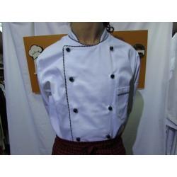 Kuvarska bluza - bela