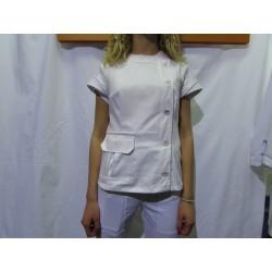 Kuvarska ženska bluza - bela